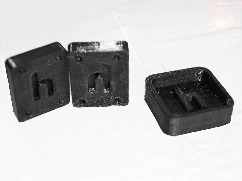 Print the mold
