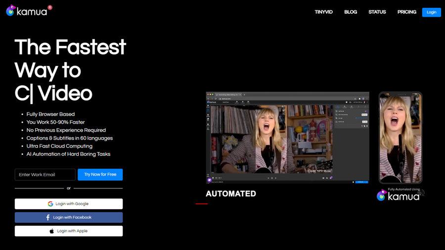 free content creation tool kamua