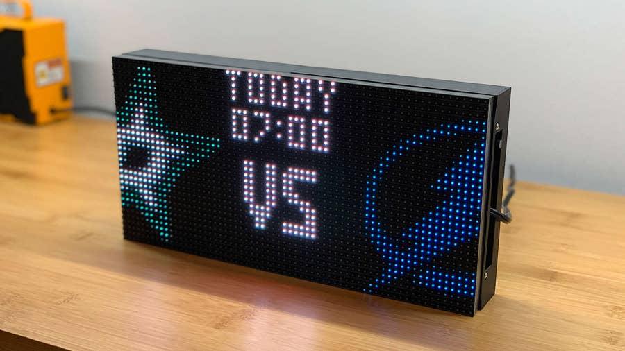 Raspberry Pi NHL Scoreboard