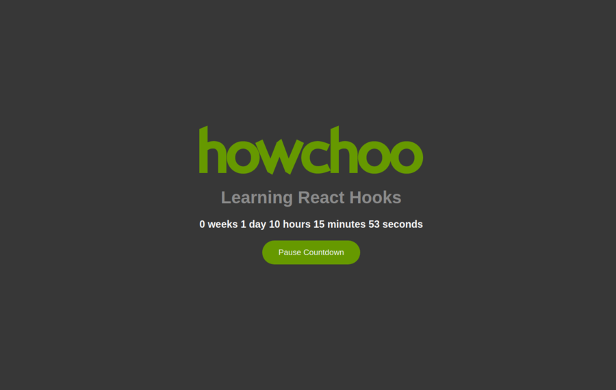 A Comprehensive Introduction To React Hooks - howchoo