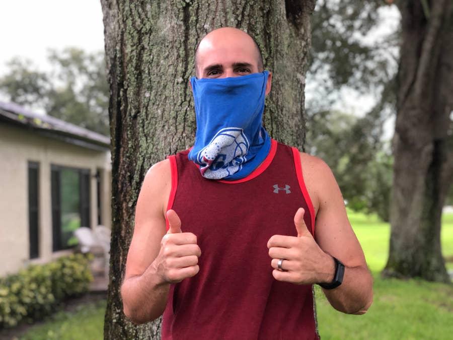 DIY Face Mask for Running