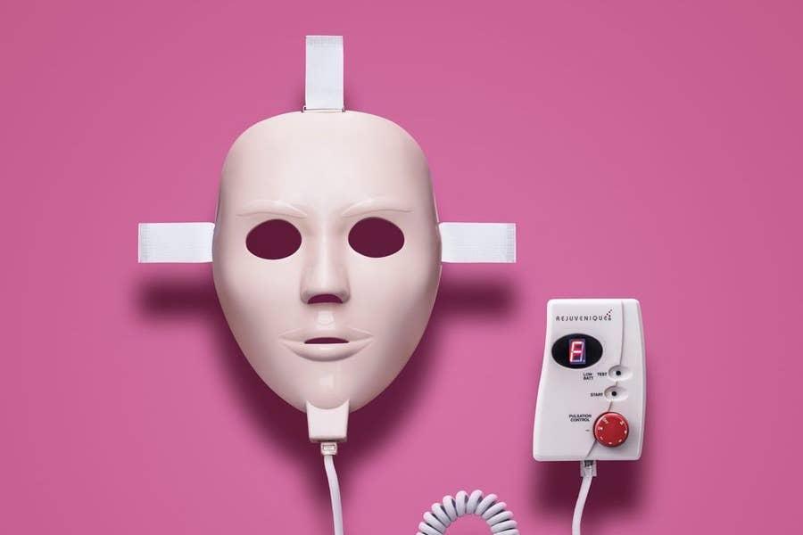 Rejuvenique electric face mask