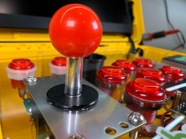 AdventurePi joystick and buttons