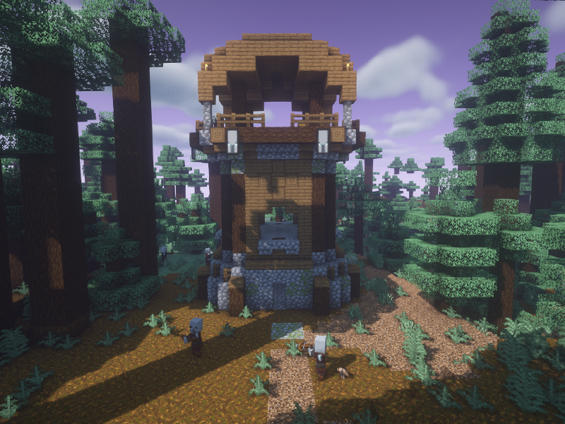 repurposed structures forge mod minecraft
