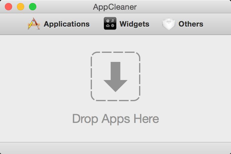 Open AppCleaner
