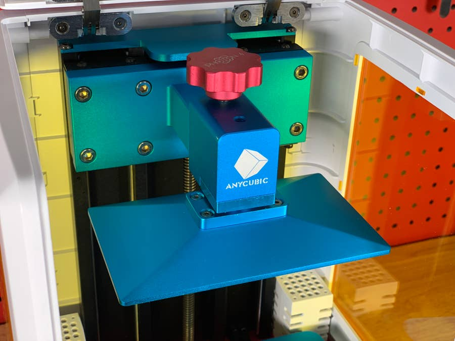 Securing Anycubic Photon S build plate