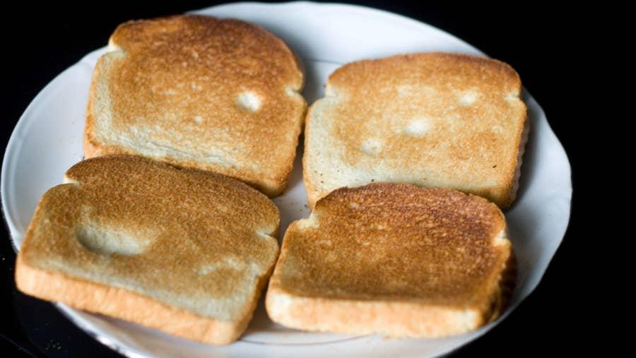 Oven Toast Hack