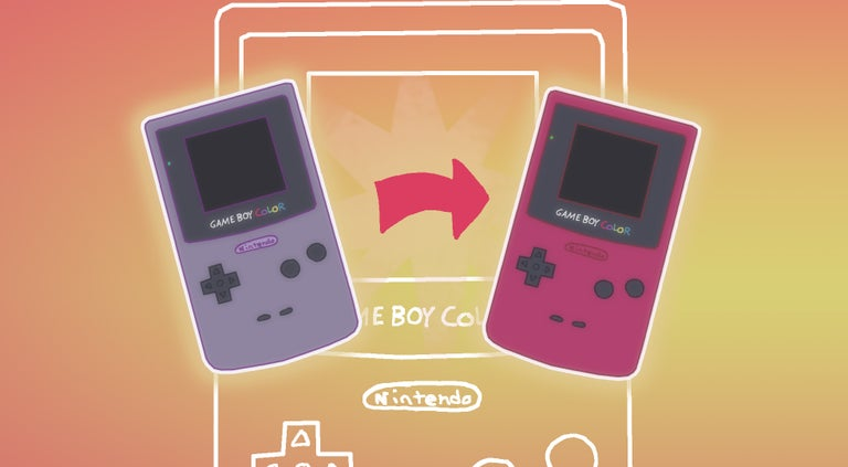How to change a Game Boy Color shell