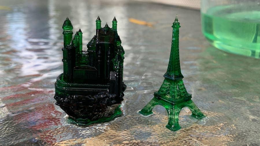 Photon S 3D prints