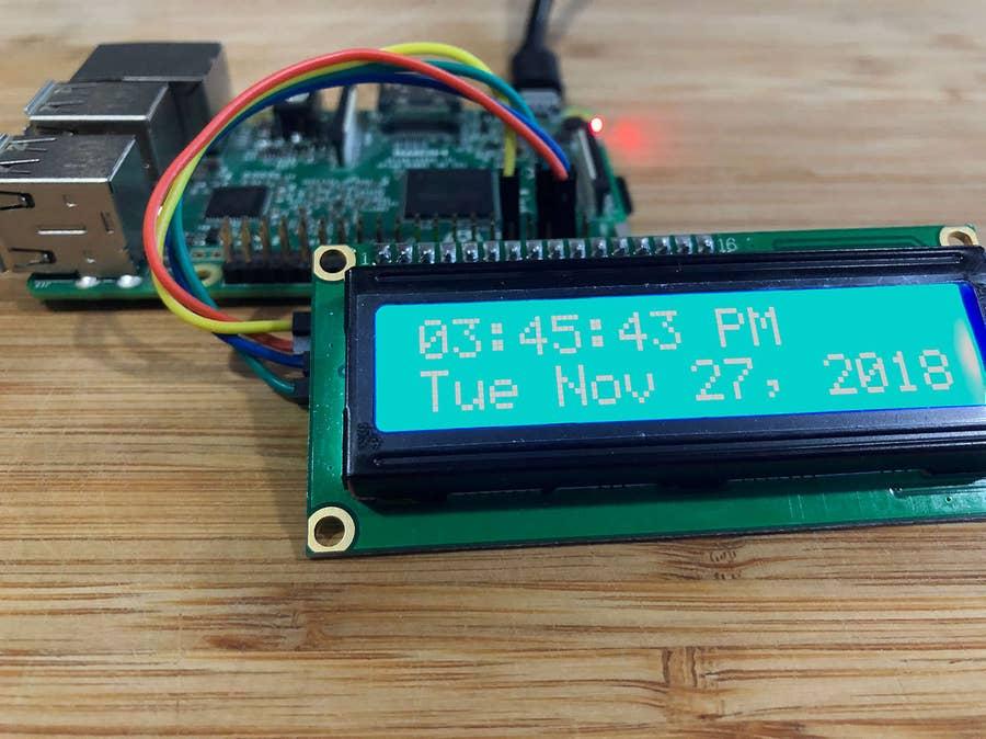 Raspberry Pi alarm clock