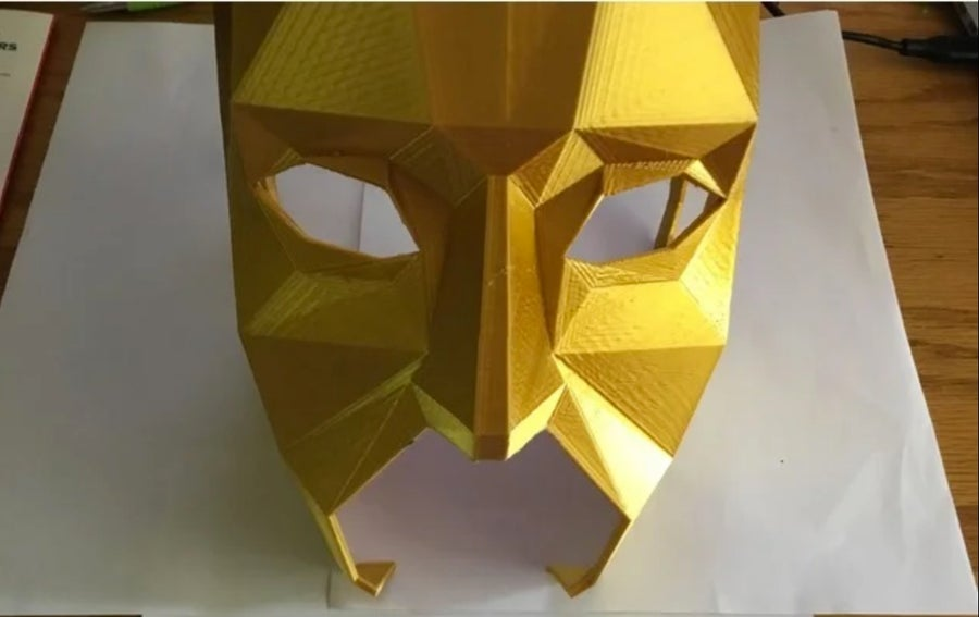 Low Poly Mask