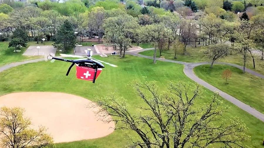 MissionGO Velos 100 (Organ Transplant Delivery via Drone)