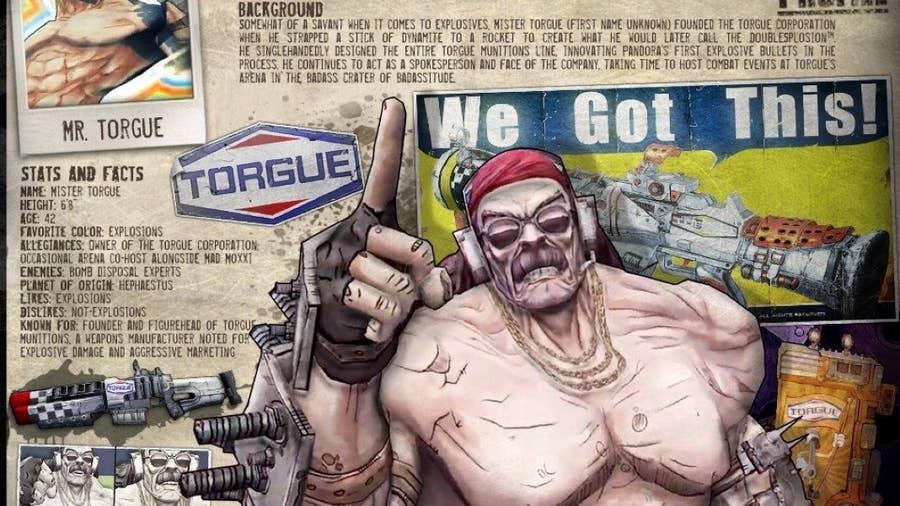 Mr. Torgue from Borderlands