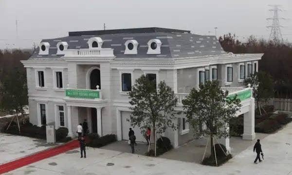 3d printed mansion