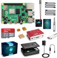 Labists Raspberry Pi 4 4GB Starter Kit