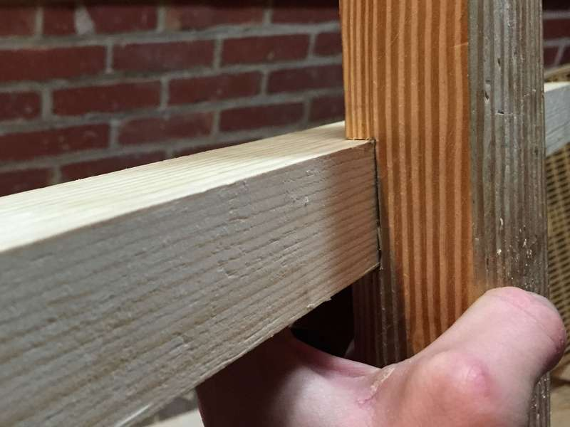 How to make the dado (housing) joint by hand