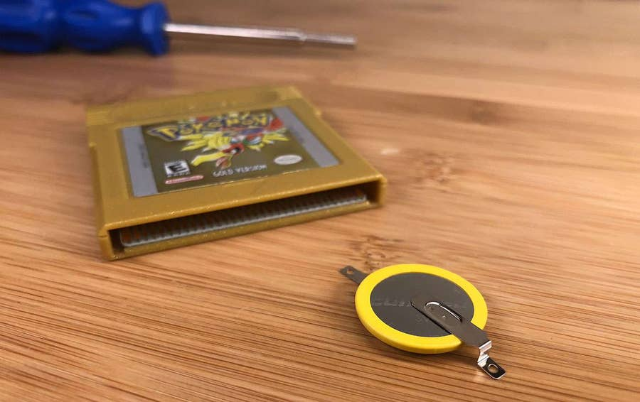 How to Change Your Game Boy Cartridge Battery When Your Games Won't Save