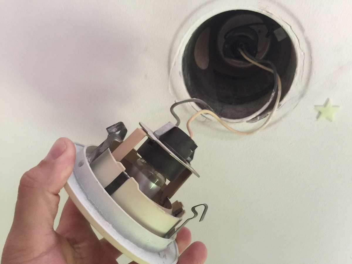 Diy Recessed Light To Pendant Light Conversion Howchoo