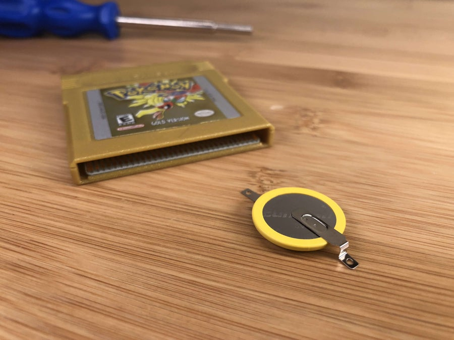 The Game Boy game replacement battery