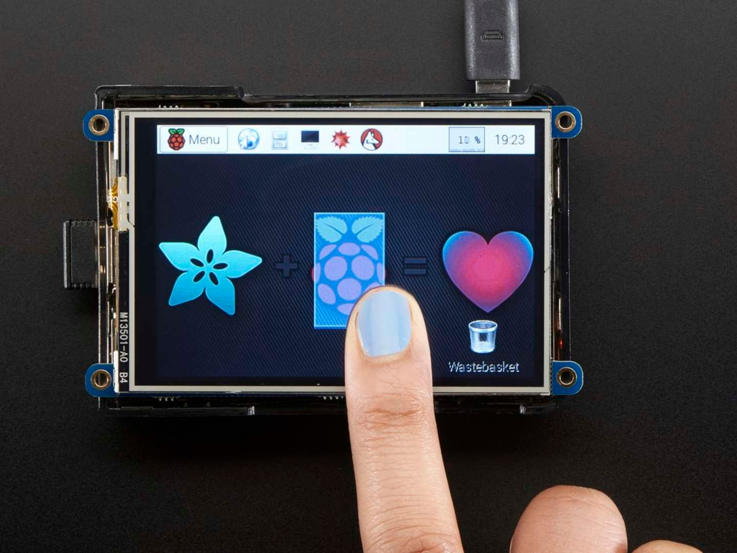 Adafruit PiTFT Plus touchscreen