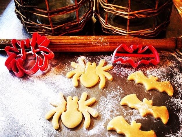 3D-printed Halloween cookie cutters