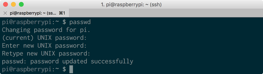 How to Change the Raspberry Pi Password