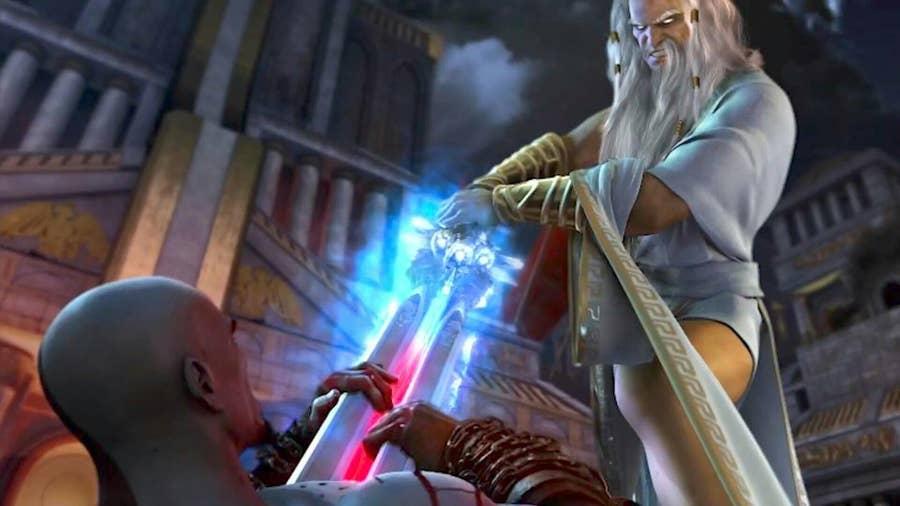 Zeus from god of war