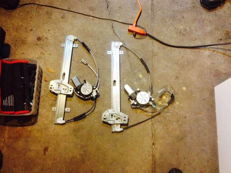 Power window motor/regulator replacement (Honda Element)