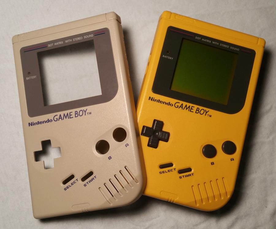 Custom Game Boy shell