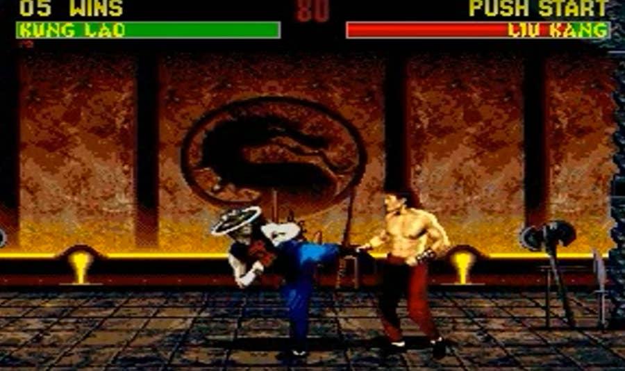 Mortal Kombat 2 gameplay