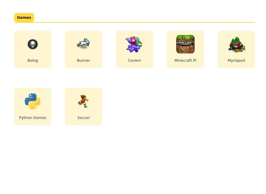 RasPad 3 Games