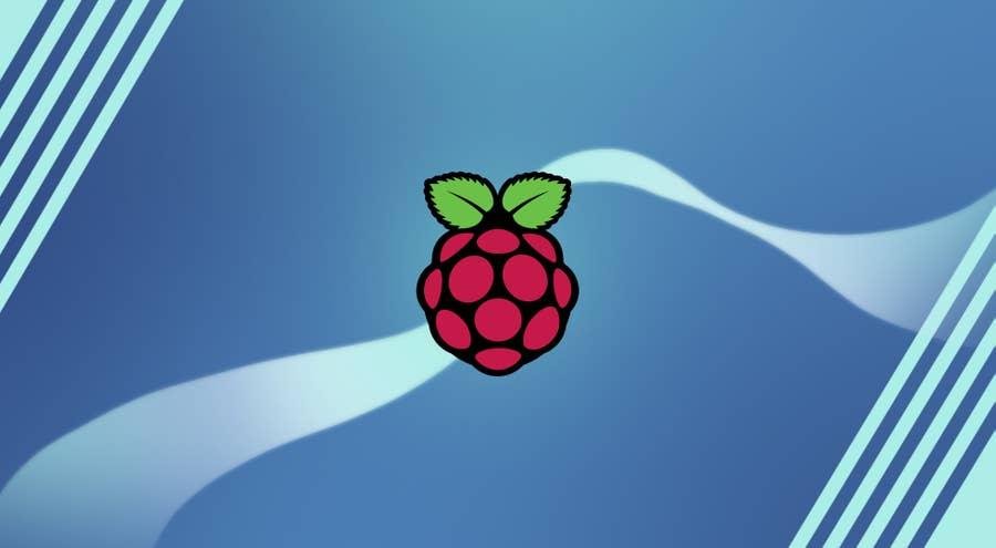 Raspberry Pi logo decoration