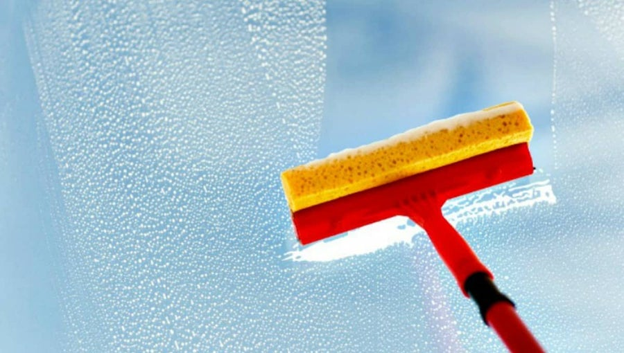 squeegee for clean windows