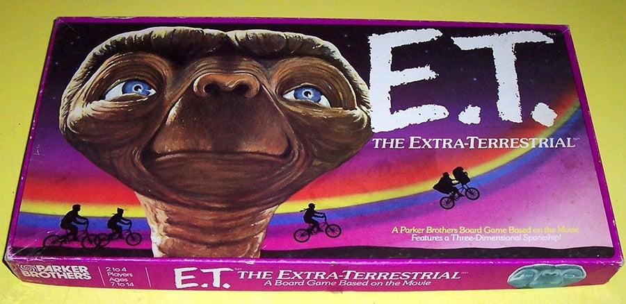 E.T. board game
