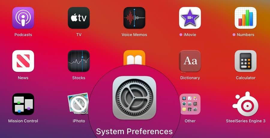 System Preference Mac