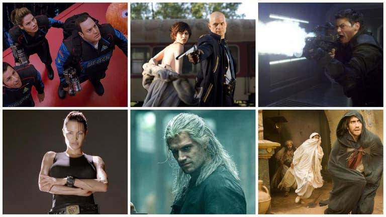 Movies and TV Shows Based on Video Games