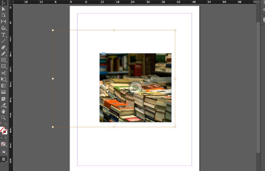 Image Cropped in InDesign