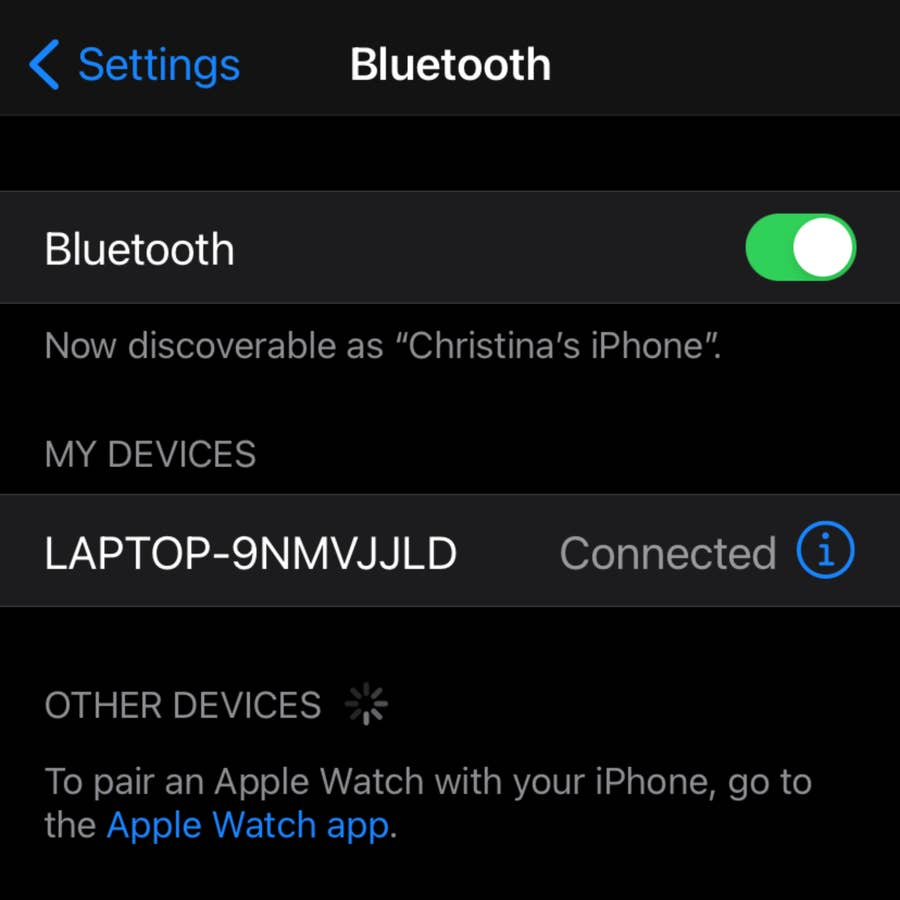 How to Change A Product's Bluetooth Name on Your iPhone