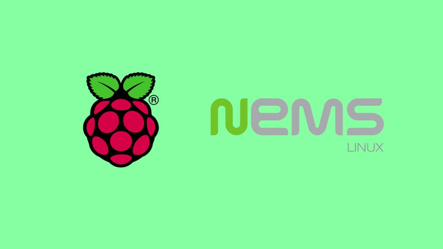NEMS and Raspberry Pi Logos