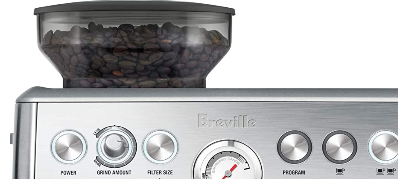 The Breville grinder exposes the beans to some heat
