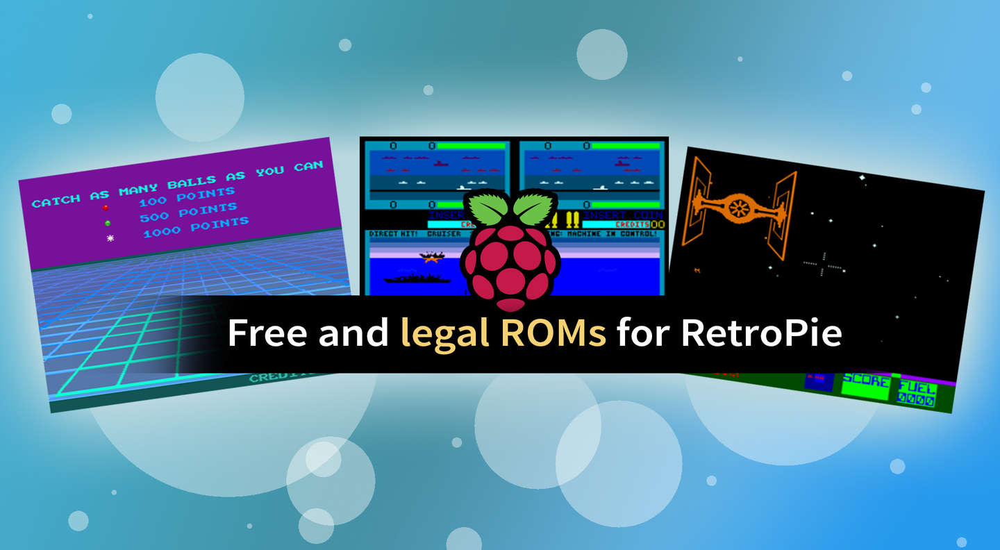 Where to Find and Download RetroPie ROMs (Free and Legally) - howchoo