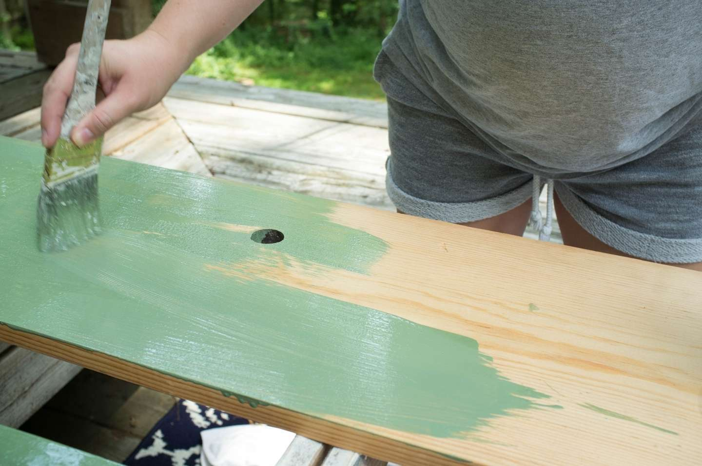 Painting and staining
