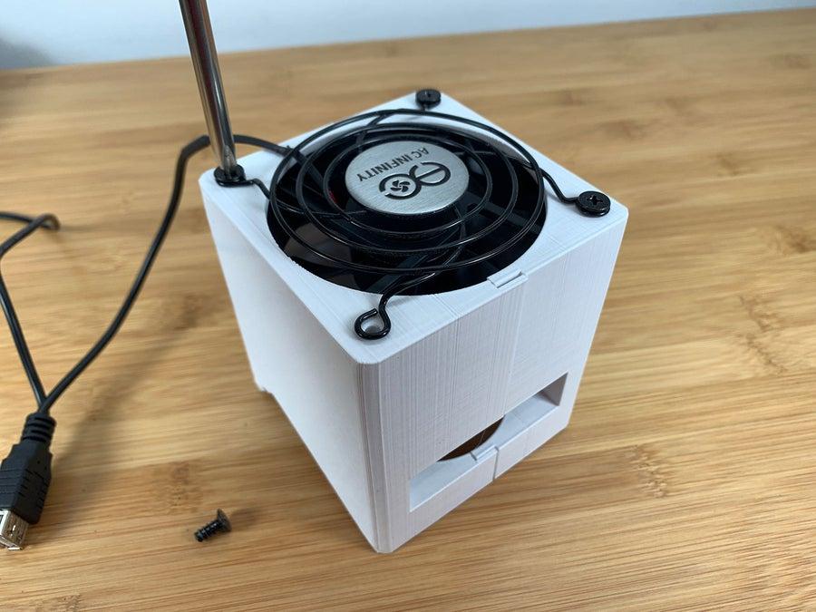 DIY solder fume extractor fan