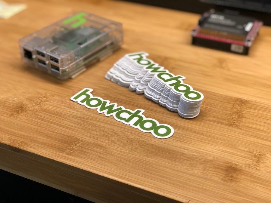 (100x) howchoo stickers