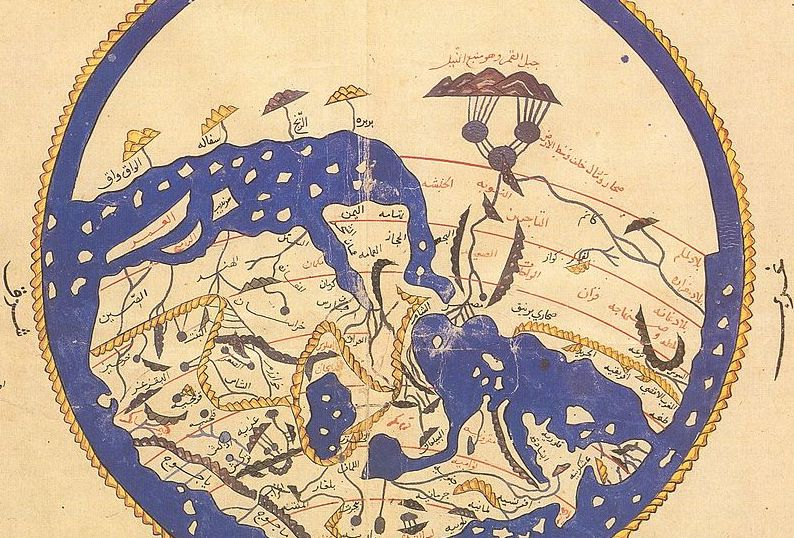1456 al-idrisi map
