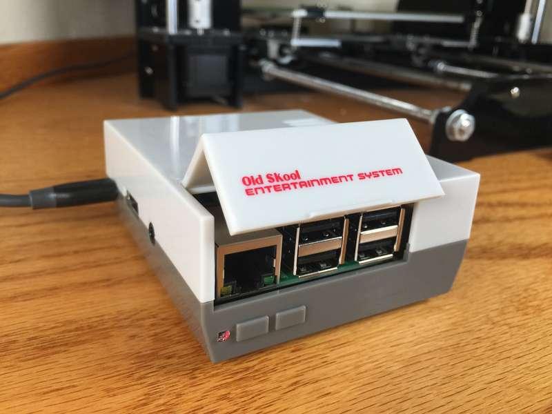 Mini NES Raspberry Pi Case Review from Kintaro/Old Skool Tools