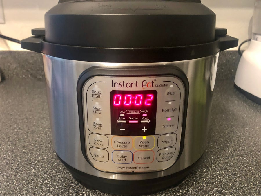 steam cycle Instant Pot