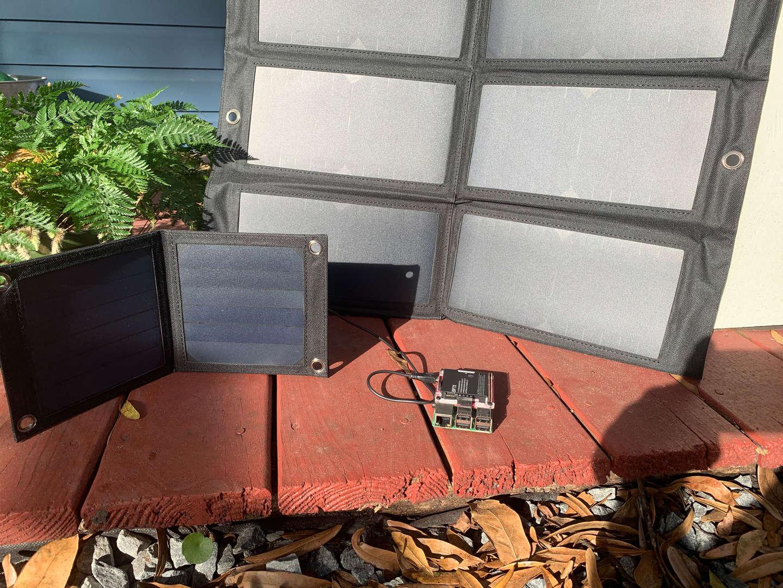 Multiple Raspberry Pi solar panel sizes