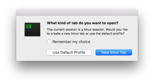 Using the iTerm 2 and tmux integration - howchoo