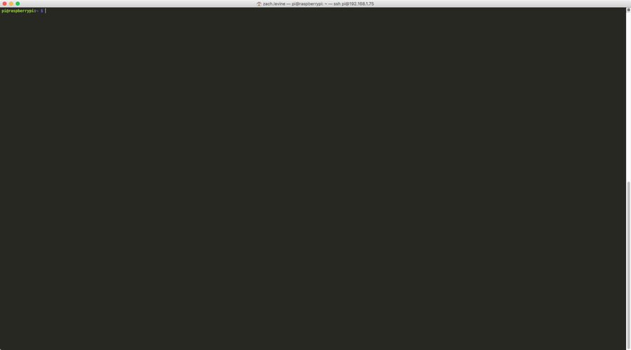 Get to the command line/terminal